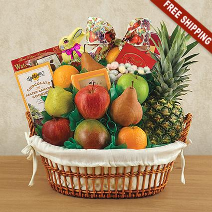 Easter Cream of the Crop Fruit Gift Basket