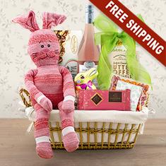Easter Festivities White Wine Gift Basket