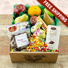 Easter Fruit N' Goodies Gift Box