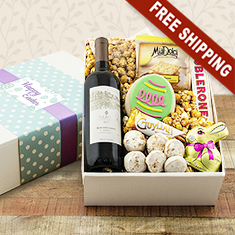 Easter Happiness Red Wine Gift Box
