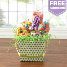 Easter Candy World Gift Basket