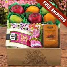 Easter Fruit N' Goodies Gift Box