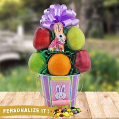 Easter Fruit Pail Gift Basket