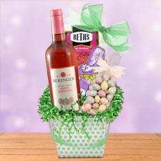 Easter Fun Times Wine & Gourmet Gift Basket