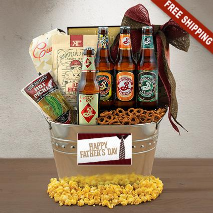 Father's Day Beer Gift Basket