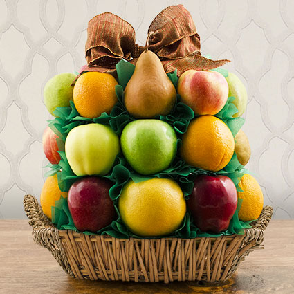 Fancy Fruit Gift Basket