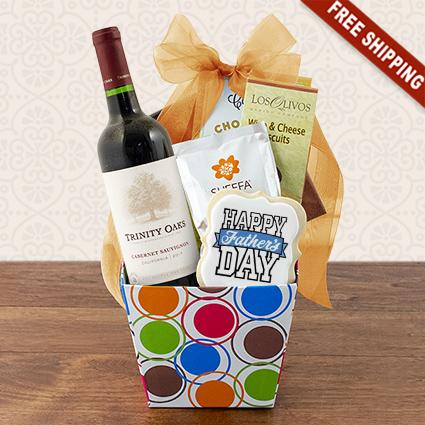 Father Knows Best Red Wine Gift Box
