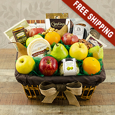 Fifth Avenue Fruit Gift Basket