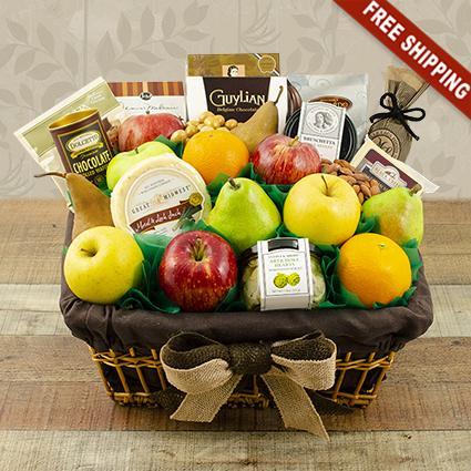 Fifth Avenue Fruit Gift Basket