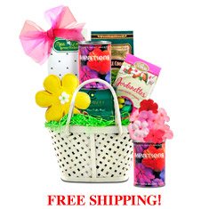 Flowers For Mom Gift Basket