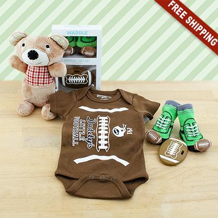 Football Baby Gift Set