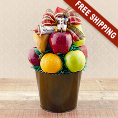 For a Sweet New Year Fruit Basket
