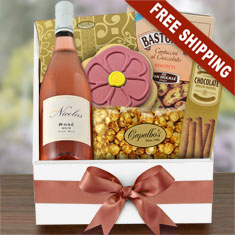 For You, Rosé Pinot Noir & Gourmet Gift Box