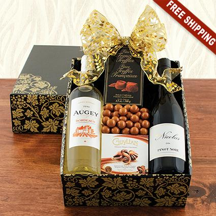 French Duo Wine Gift Box