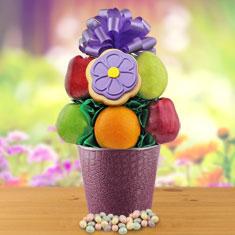 Fresh Fruit Bouquet Gift Basket