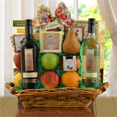 Fruit, Cheese & Stival Wines