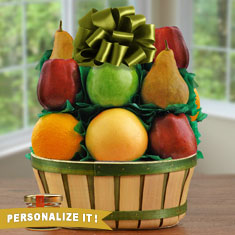 Fruit N' Honey Gift Basket