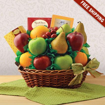 Garden Fresh Fruit Gift Basket