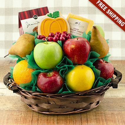 Giving Thanks Fresh Fruit Gift Basket