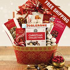 Glad Tidings Gourmet Gift Basket