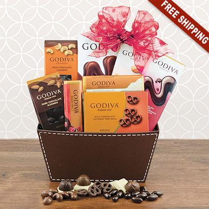 Godiva Chocolate Bliss Gift Basket