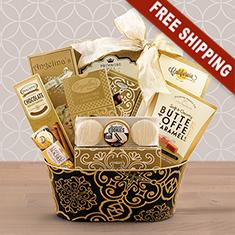 Gourmet Elegance Gift Basket