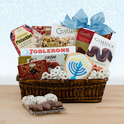 Hanukkah Party Time Gourmet Gift Basket