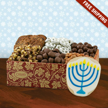 Hanukkah Super Snackers Gourmet Gift Box