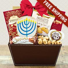 Hanukkah Gourmet Sampler Gift Basket