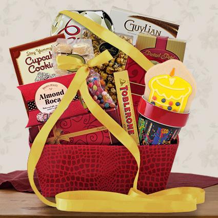 Happy Birthday Gourmet Gift Basket