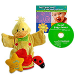Happy Baby Duck Puppet & James Taylor CD Gift Pack