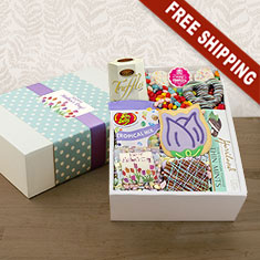 Happy Mother's Day Gourmet Delights Gift Box