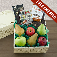 Happy Passover Fruit & Snax Gift Box