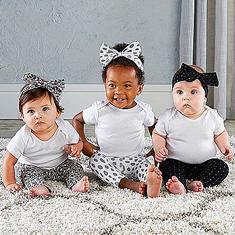 Trendy Baby Leggings & Headband 6-Piece Gift Set