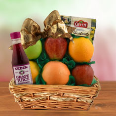 Healthy Snacking Fruit Gift Basket
