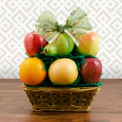 Heartfelt Condolences All Fruit Shiva Basket