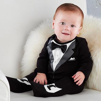 His First Tuxedo