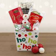 Ho-Ho-Holiday Gourmet Gift Basket