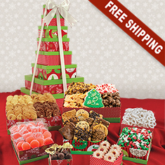 Holiday 8-Box Snack Tower Gift Set