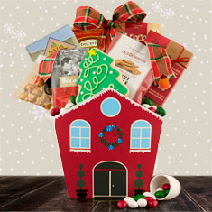 Holiday House Gourmet Gift Basket