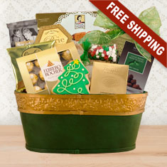 Holly Jolly Gourmet Gift Basket