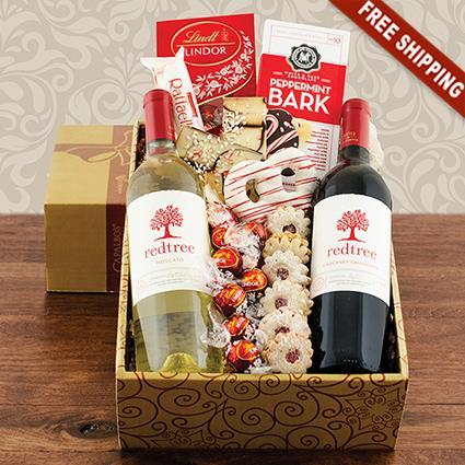 Red & White Wine Duo Gift Box