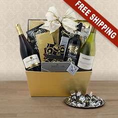 Imperial Trio Wine Gift Basket