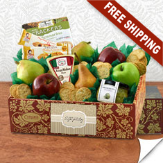 Italian Pride Of The Farm Fruit Gift Box