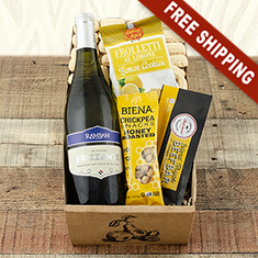 Italian White Wine Gift Box