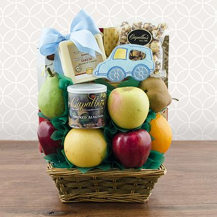 It's A Boy Fresh Fruit Gift Basket