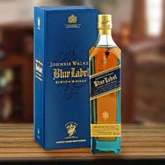 Johnnie Walker Blue Label Engravable Gift Set