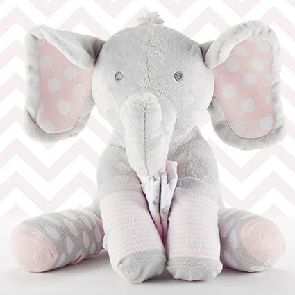 Lilly The Elephant Plush Plus Socks