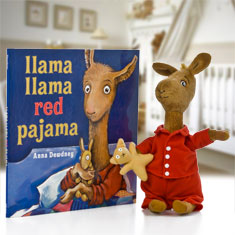 Llama Llama Red Pajama Doll & Hardcover Book Gift Set