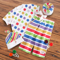 Lollipop Loungewear Layette Set